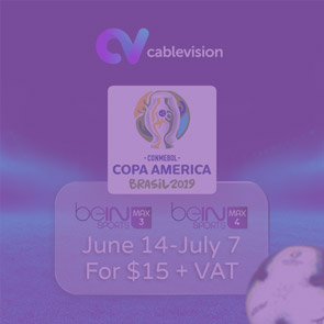 Copa America now on Cablevision