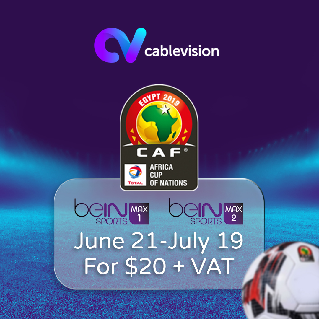 2019 Africa Cup of Nations is on Cablevision