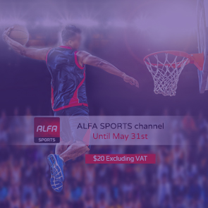 ALFA SPORTS channel launch